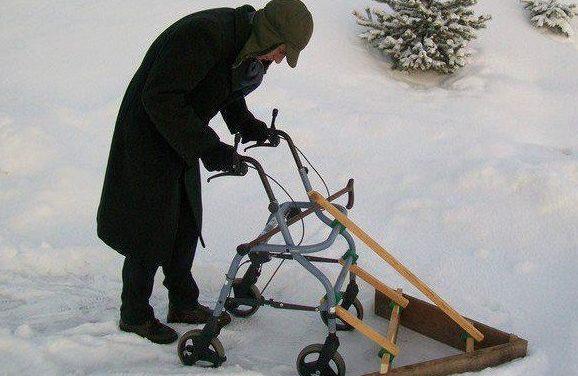 Leskirouvat lumitöissä?