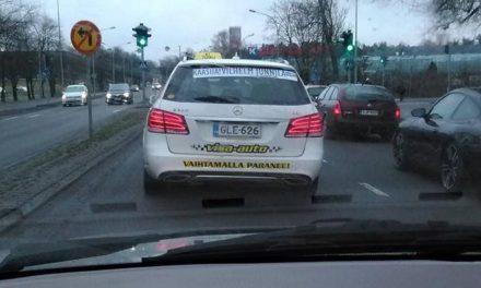 Kaasua autoveron poistamiseen!