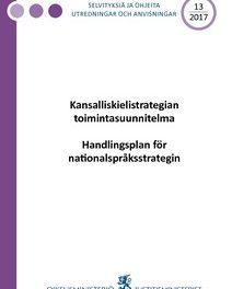 Kansalliskielistrategia on yksipuolinen edunvalvontaohjelma